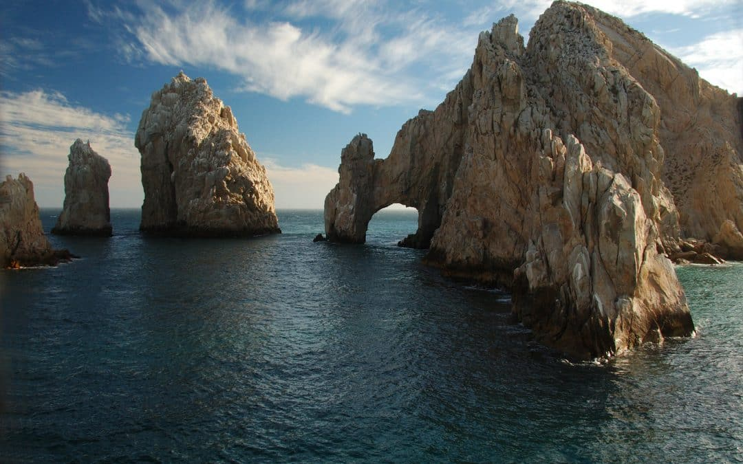 Los Arcos in Cabo San Lucas at Sunset.